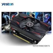 Yeston Radeon RX 560D GPU 4GB GDDR5 128 bit Gaming Desktop computer PC Video Graphics Cards unterstützung DVI-D/HDMI-kompatibel