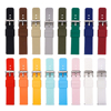 14mm 16mm 18mm 20mm 22mm 24mm Silicone Band Strap Quick Release Watchband Bracelet for Samsung Active 2 Huami Huawei Smart Watch 2