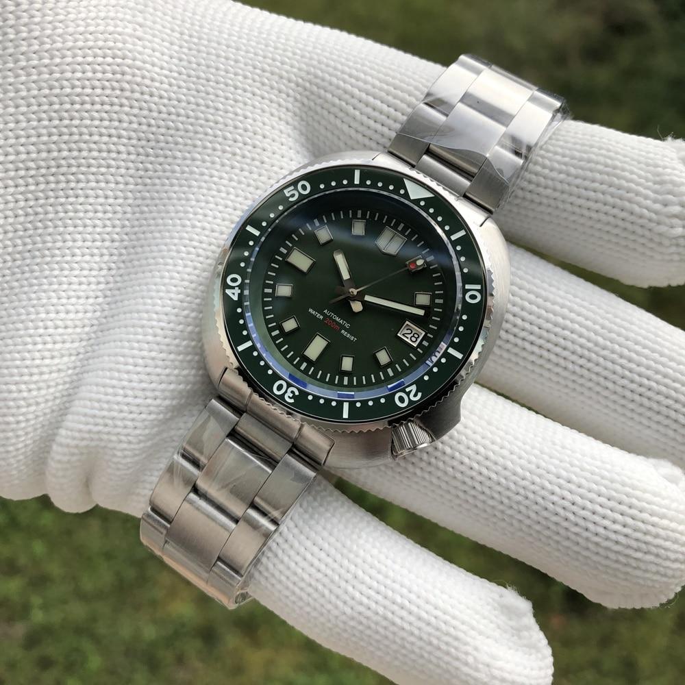 He63ee12701b449d8a79b2b12b85848030 SD1970 Steeldive Brand 44MM Men NH35 Dive Watch with Ceramic Bezel