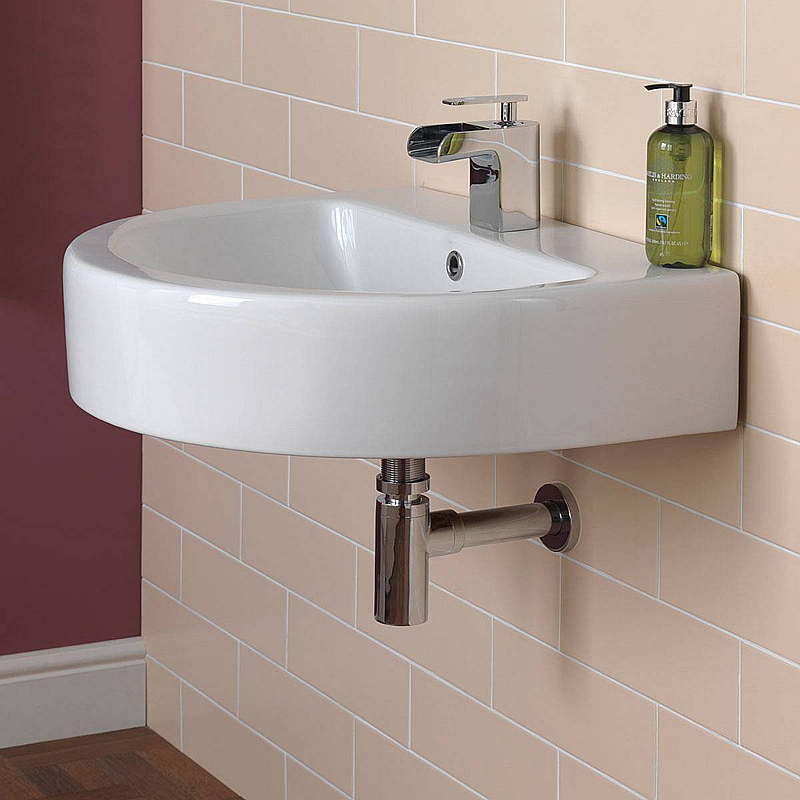 bathroom siphon sink basin(China)
