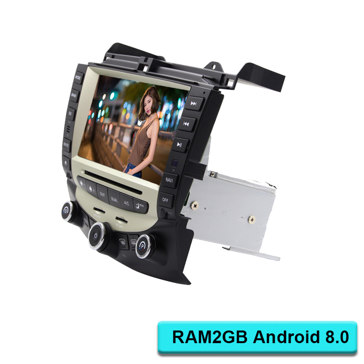 Android 8.0 Car Multimedia Player For <font><b>Honda</b></font> <font><b>Accord</b></font> <font><b>2003</b></font> 2004 2005 2006 2007 2 Din Car Radio Audio WIFI GPS <font><b>Stereo</b></font> DVD CD SD image