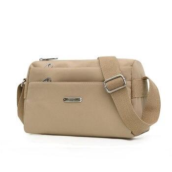 Nylon Women Shoulder Bags Female Messenger Bags Solid Color Travel Crossbody Bag for Girl Simplicity Ladies Wallet Retro Handbag 1