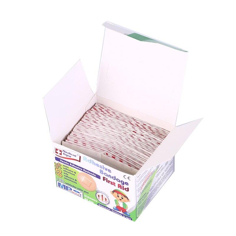 100PCS Ultra-thin Emergency First Aid Bandage Breathable Band-Aids Waterproof Bandage Band-Aid Adhesive Wound Medical