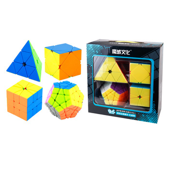 Moyu Speed Cubes Box SQ1 Skew Pyramids Megamin Magic Cubes 3x3x3 Gift Box Packing Specail Cube Puzzle Toys For Children gifts image