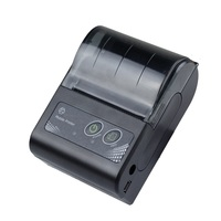 Portable Thermal Printer 58mm thermal paper receipt Bill ticket QR code barcode printing mobile Mini Wireless Bluetooth Printer