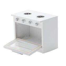 1/12 кукольный домик Миниатюрные аксессуары мини деревянная газовая плита модель моделирование кухонная мебель Игрушки для кукольного дома ...