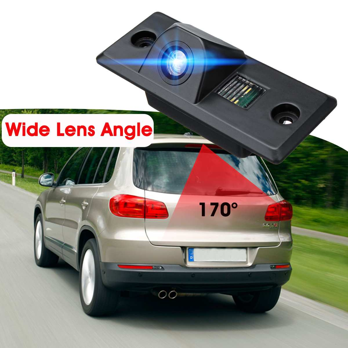 cheapest Car Rear View Camera Reverse Backup Parking for VW Tiguan Golf Mk4 Bora Polo Passat Jetta Porsche Cayenne Skoda Fabia Yeti