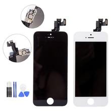 フルアセンブリ Lcd の表示 Iphone 5 S C 液晶タッチ交換 5 S 5C なしデッドピクセル黒/白