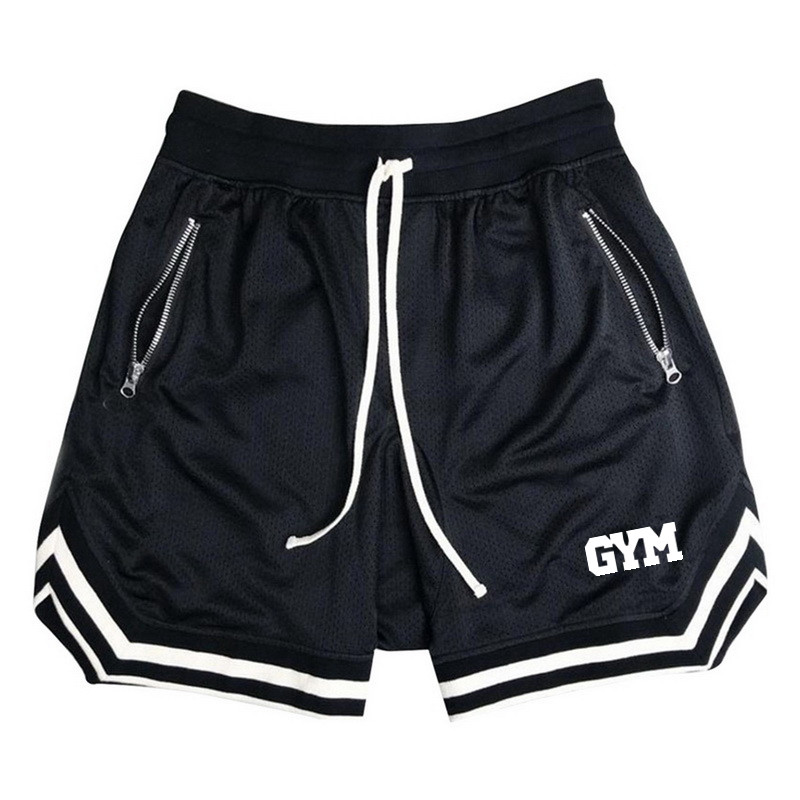 New Fashion Men Bodybuilding Sweatpants Fitness Short Jogger Casual Gyms Men Shorts Sporting Beaching Shorts Trousers Polyester