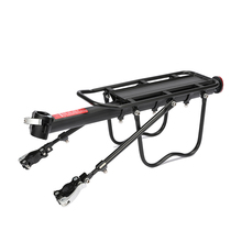 Buy Alloy Rear Bicycle Pannier Rack Carrier Bag Luggage Cycle Mountain Bike Black directly from merchant!