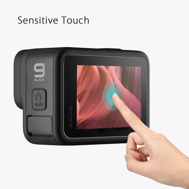 Tempered Glass Screen Protector Cover Case for GoPro Hero 9 Black Lens Protection Protective Film Gopro9 Go pro Accessories 6