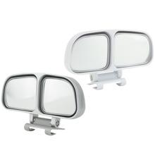 2 espelhos laterais do espelho auxiliar do ponto cego universal dos pces para o carro (esquerda e direita)