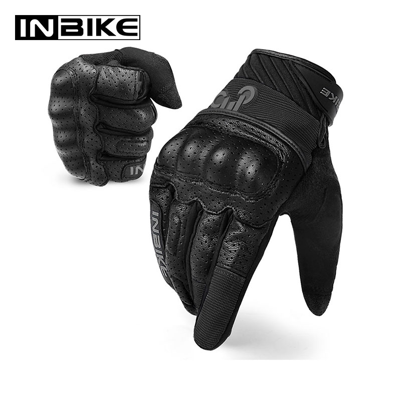 Inbike Motorcycle Gloves Motocross Touch Screen Shockproof Guantes Moto Breathable Motorbike Gloves All Season Men Gloves Special Price 38f2 Cicig