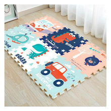 2cm Thick Baby Baby Crawling Mat Thick Stitching XPE Green Living Room Climbing Mat Home Parent-Child Interactive Game Pad(China)