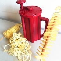Potato Slicer 3 In 1 Tornado Potato Cutter Manual Twist Spiral Whirlwind Potatoes Machine Vegetables Tools Kitchen Accessories