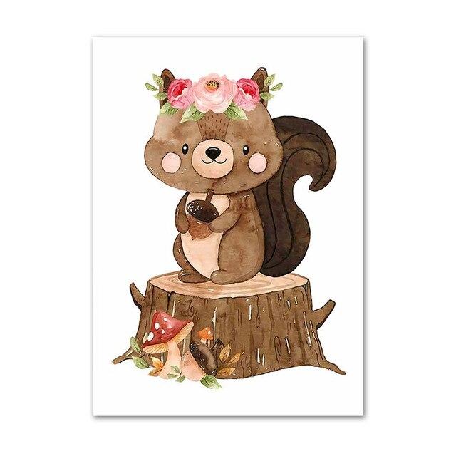 Фото милые с изображением животных из джунглей в виде пенька алмазов