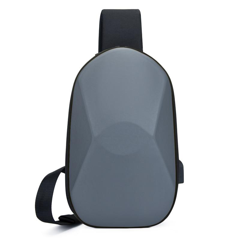 Male Shoulder Bags USB Charging Crossbody Bags Men Anti Theft Chest Bag School Summer Short Trip Messengers Bag 2020 New Arrival