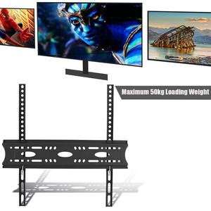 Image 3 - Uchwyt mocujący do ściany TV maksymalne obciążenie 50KG bez luzu do 30/32/42/55/60 cala LCD/telewizor LED wspornik do uchwytu uchwyt monitora łatwa instalacja