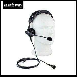 Image 1 - שתי דרך רדיו בום מיקרופון אוזניות עם ב קו PPT ולרטקס VX231 VX261 VX351 VX 417 VX 451 EVX 531 EVX 534