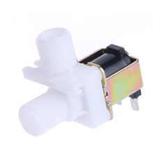 цена на DC 12V Electric Solenoid Valve Magnetic N/C Water Air Inlet Flow Switch 1/2 Solenoid Valve