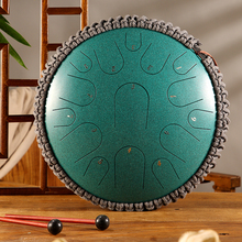 Percussion Instrument Drum Hand-Pan Steel Music Yoga 13inch Lovers 15-Tone Beginner D-Key