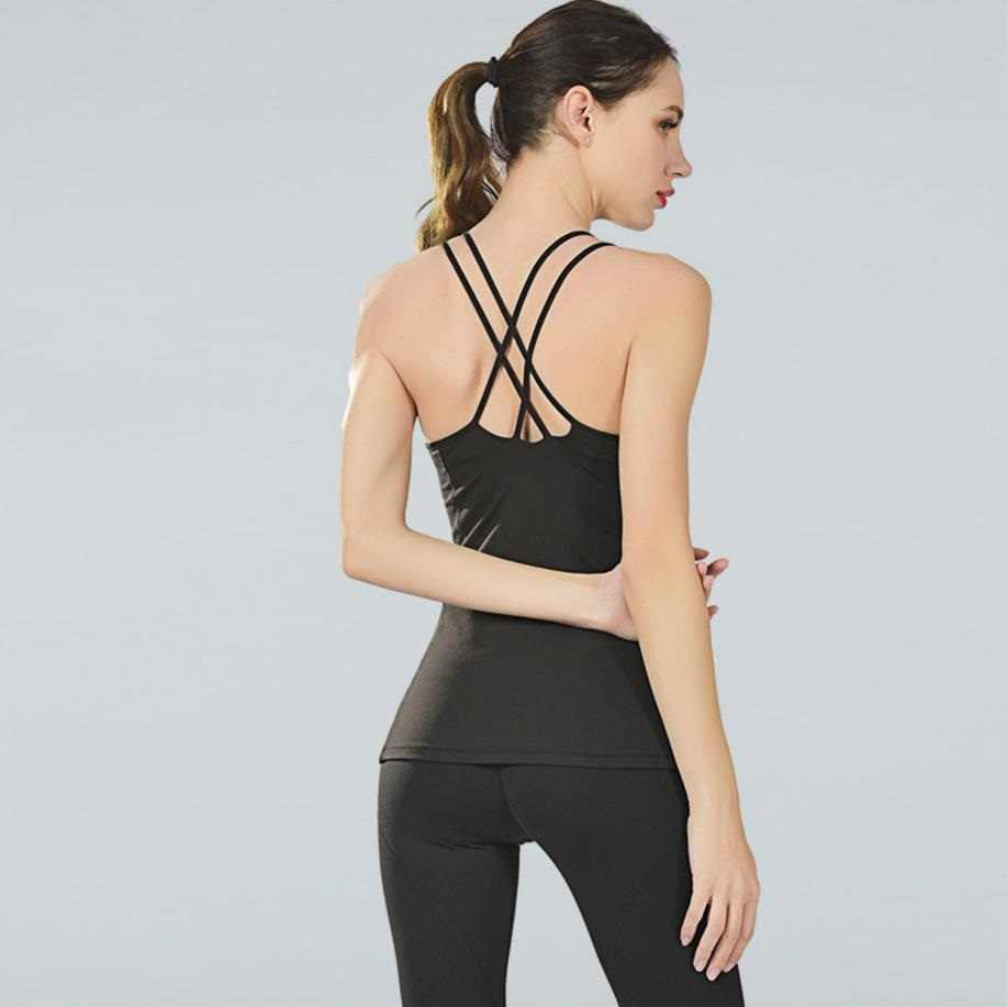 2019 Women Sports Shirt Jersey Fitness Bra Top Cover-up Workout T-shirts Gym Clothes Yoga Vest Sportwear Running Suit Singlet