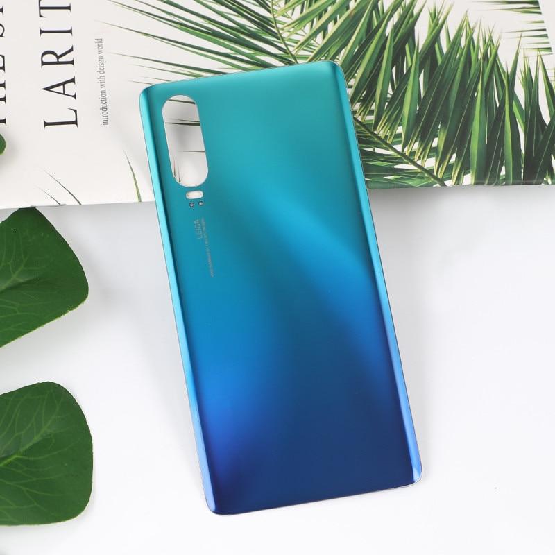 P 30 100% Original Housing For Huawei P30 Glass Battery Cover Repair Replacement Back Door Phone Rear Case + Logo