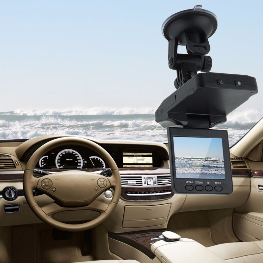 Car DVR 2.5 Inch HD Car LED IR Vehicle DVR Road Dash Video Camera Recorder Traffic Dashboard Camcorder LCD 270 Degrees