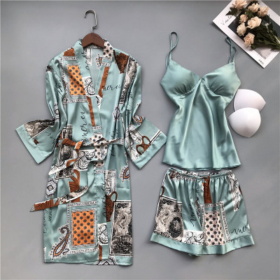 SET V NECK SPAGHETTI STRAP WOMEN NIGHTWEAR (9 VARIAN)