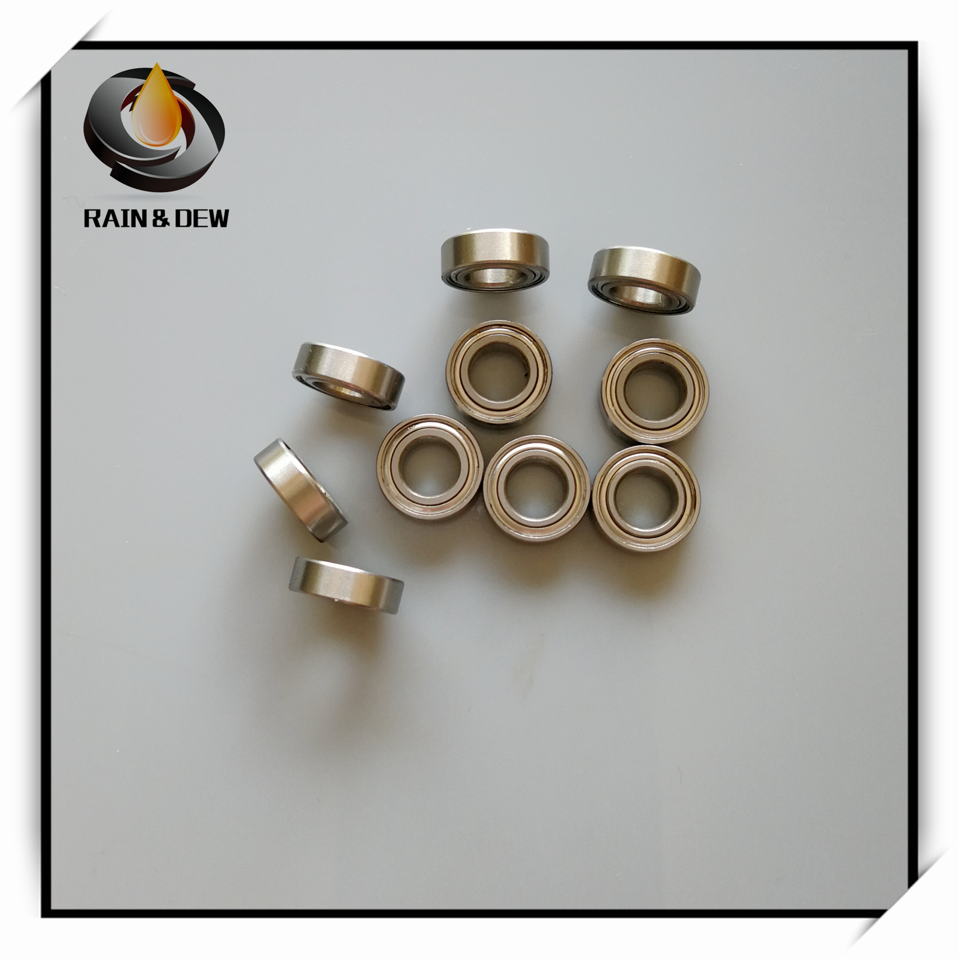 1Pcs  SMR137ZZ CB ABEC7 7X13X4 Mm MR137 Stainless Steel Hybrid Ceramic Ball Bearing  Fishing Vessel Bearing