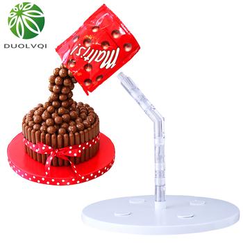 Praktyczna foremka dekoracyjna do ciastek i czekolady kreatywna spożywcza plastikowa podstawka do ciast ciasto struktura wsparcia DIY narzędzia do pieczenia tanie i dobre opinie duolvqi Stojaki CN (pochodzenie) Ekologiczne Z tworzywa sztucznego KG55LAA