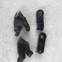 Per mercedes benz W221 S280 S300 S350 2006 2013 Kit di riparazione Clip staffa faro zampa faro piedini in plastica nera artiglio di fissaggio