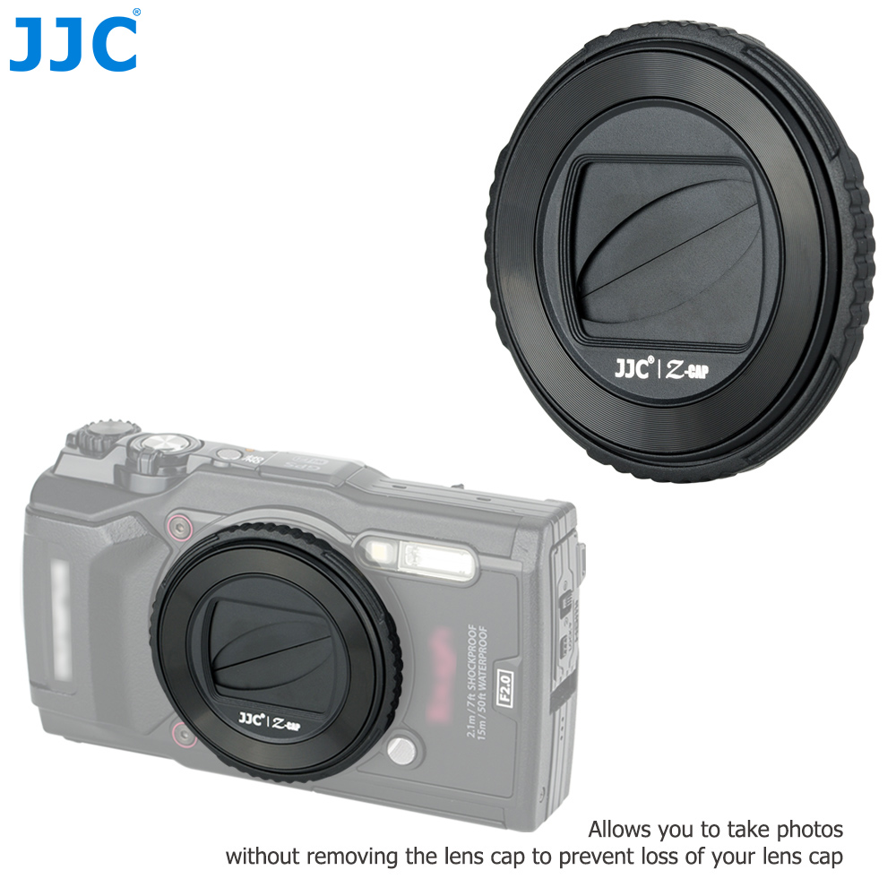 Cap-Holder-Cover Protector-Accessories Auto-Lens Olympus Tg6 TG-6 Jjc-Camera for Tg5/Tg4/Tg3/..