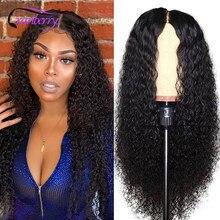 Парик из натуральных волос, волнистые волосы, бразильские волнистые волосы без повреждений, парики из человеческих волос для черных женщин