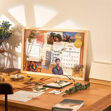 Cork Board Creative Photo Wall Wall-mounted Household Message Board Background Wall School Notice Board Home Office Supply