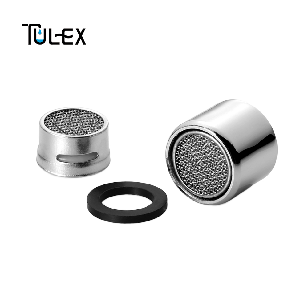 TULEX Kitchen Faucet Aerator 20MM Female Attachment On Crane Stainless Steel SUS304 Full Flow Spout Bubbler Filter Accessories