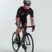 Boestalk bike team race odzież szybkoschnąca oddychająca do roweru szosowego i górskiego odzież sportowa poduszka żelowa w Zestawy rowerowe od Sport i rozrywka na