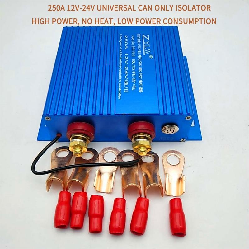 Внедорожный RV модифицированный умный двойной батарейный изолятор автомобильный двойной батарейный изолятор менеджер 12 В проводка нос и об...