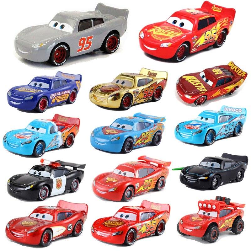 Disney Pixar Racing 2 3 продажа Meng Молния Маккуин Джексон шторм 155 литье под давлением металлический сплав Детский Рождественский подарок
