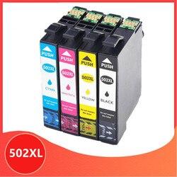 T502 XL tusz kompatybilny dla Epson T502XL 502XL Expression Home XP-5105 XP-5100 siły roboczej WF-2860DWF WF-2865DWF XP5105 WF-2860