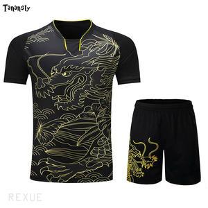Футболка для настольного тенниса, новинка, женская/мужская футболка, униформа для командных тренировок, китай