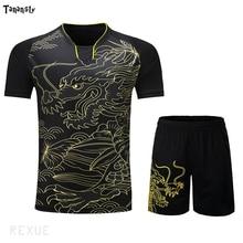 New Jersey Table Tennis Shirt Women / Men Pingpong shirt China Ma L Ding N Uniforms Team Training T Shirts