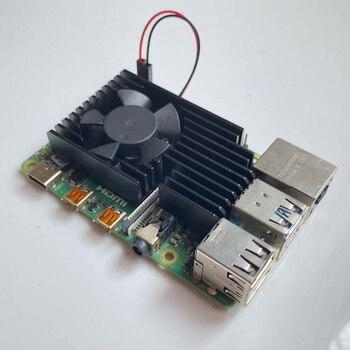 Extreme Cooling Fan Heatsink Kit For Raspberry Pi 4B / 3B+ / 3B Plus / 3B