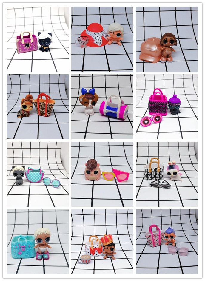 LOL Doll Surprise Original  Fifth Generation Little Sister Low Temperature And High Temperature Discoloration  Doll Toys