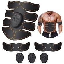 Smart Abdominal Muscle Trainer Wireless EMS Stimulator Body Slimming Belt Arm Leg ABS Toner Gel Pads Unisex Fitness Gear