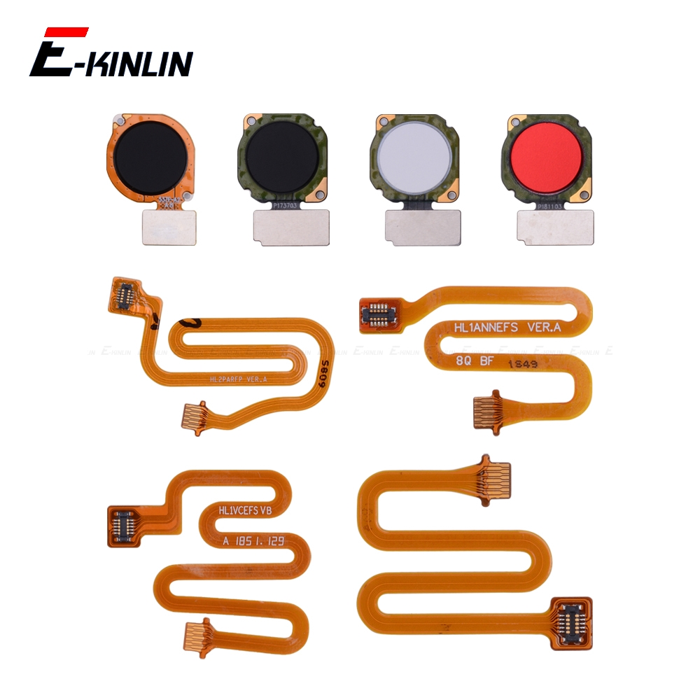 Fingerprint Scanner Connector For HuaWei Nova 5i 4 3 3i 3e Touch Sensor ID Home Return Button Key Connection Flex Cable