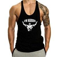 Camiseta sin mangas de algodón para hombre, ropa interior para gimnasio, entrenamiento, Verano