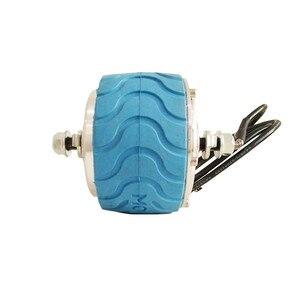E-tech motor de cubo alinhado da roda impermeável do torque alto de 4 polegadas com certificado do ce do pneu