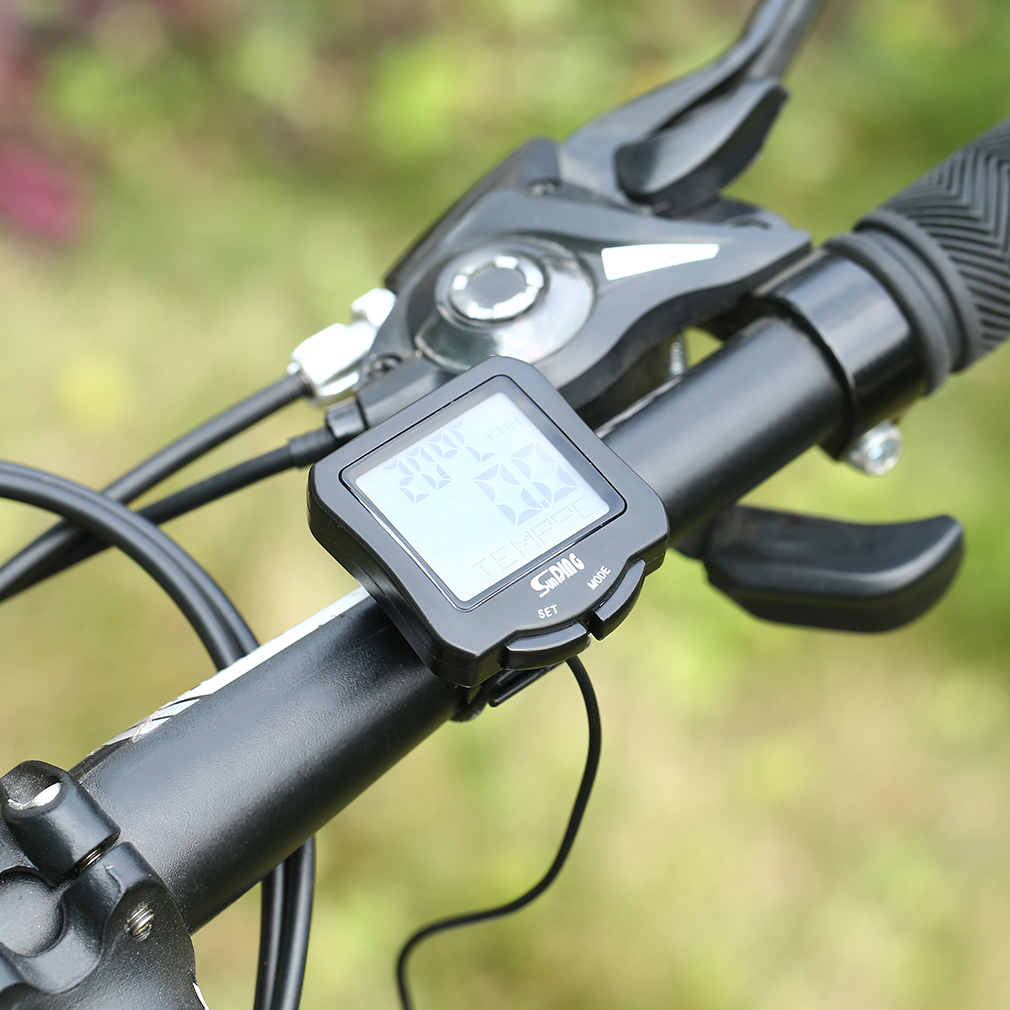 Universal Bike Bicycle Wireless Computer Speedometer Waterproof Bicycle Computer Cycling Speedometer With Backlight