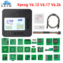New XPROG V6.26 V6.12 V6.17 Firmware V5.9 Add Add More Authorization Black Metal Box XPROG M V5.55 V5.70 V5.74 V5.84 XPROG V5.84